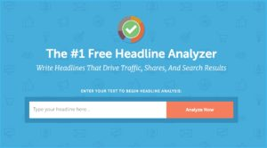 blog post headline analyzer